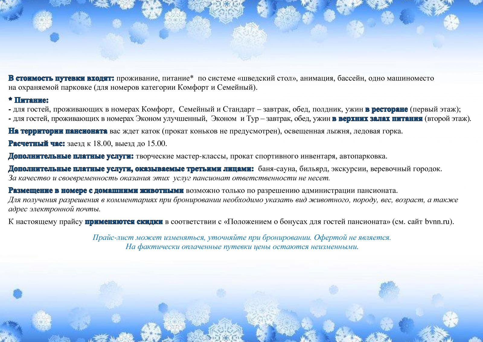 Включено зимние каникулы 2019 буревестник